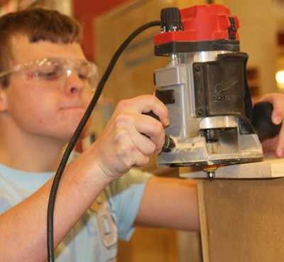 Wood Shop goes vocational
