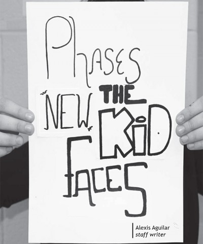 Phases the new kid faces