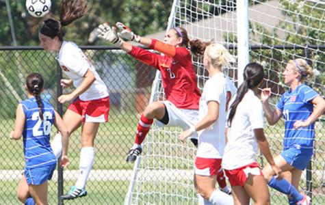 Tomball hosts college soccer game