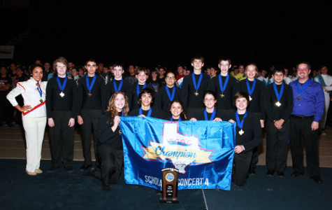 Percussion band claims state title