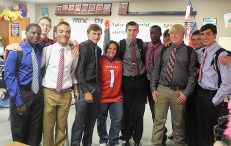 Football honors Vierkant as top teacher