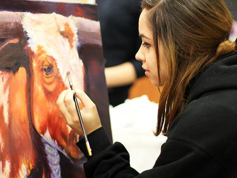 Artist hoping for rodeo repeat