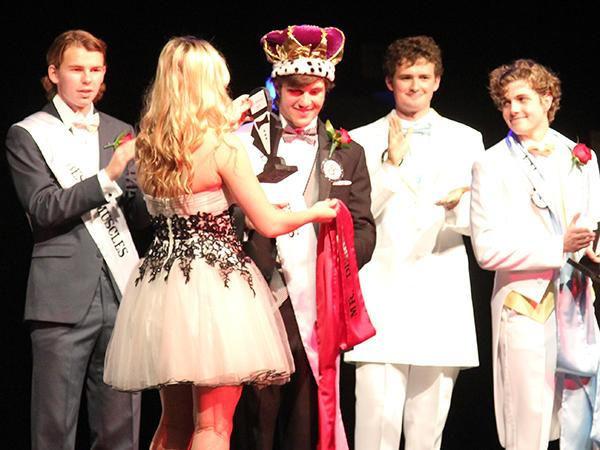 Walker wins Mr. Debonair title