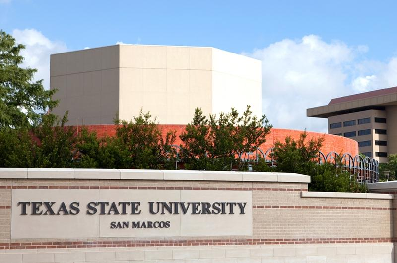 Error in Texas State acceptance letters