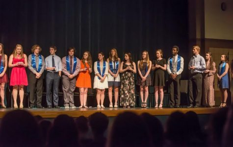 NHS inducts new members for 2016-17 year