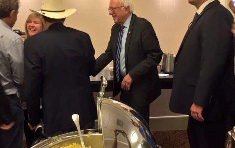 Cougar Claw Exclusive: Sanders surprises Texas delegation