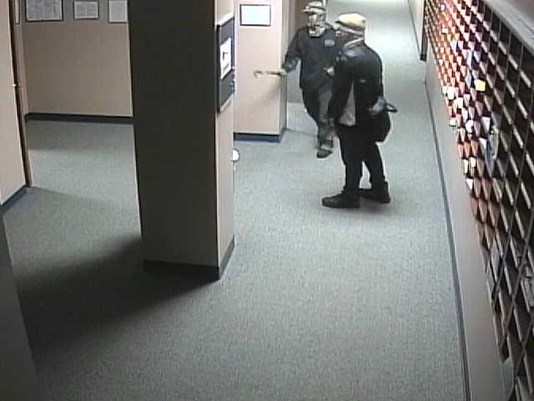 Break-in at THS, TPD searching for suspects