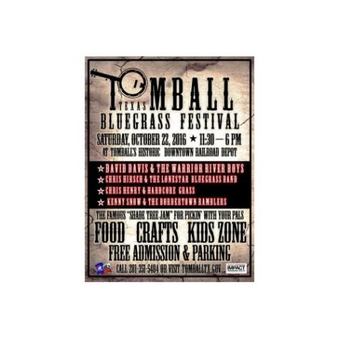 Bluegrass Festival coming this Saturday