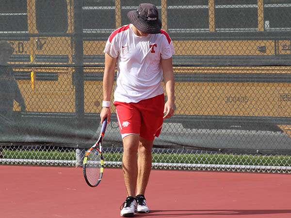 Varsity Tennis claims district title