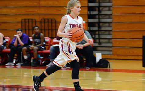 Girl's basketball win against Waller