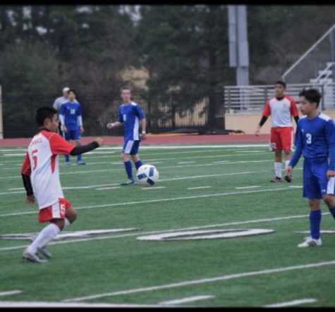 Frozen victory for soccer at New Caney