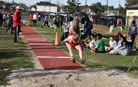 Track dominates district meet
