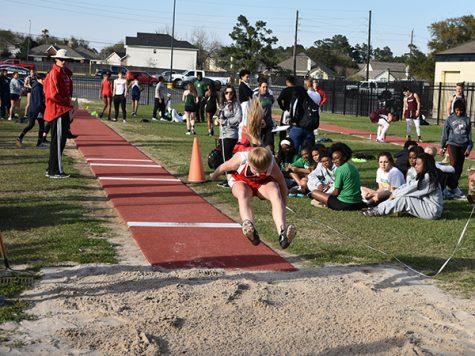 Track dominates district meet