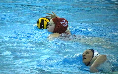 Water Polo charges the Woodlands