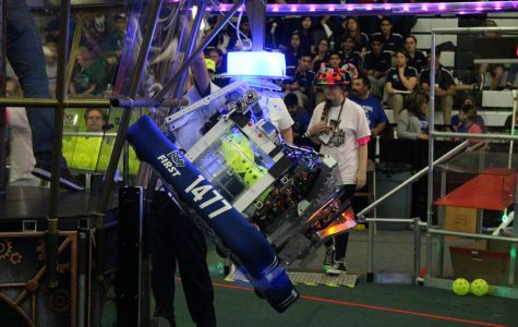 Student discovers fun of Robotics