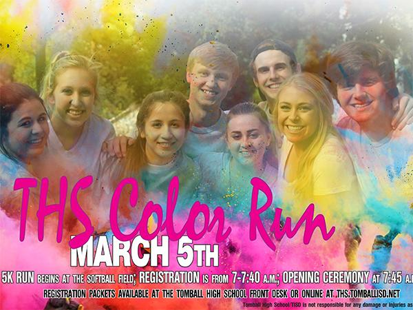 StuCo to host first-ever Color Run