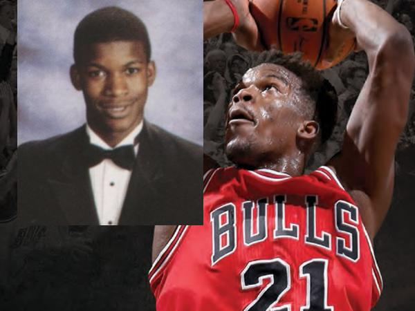 Jimmy Butler, THS Class of 2007, now a member of the Chicago Bulls.