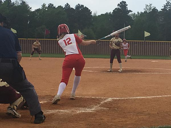 Talley Thompson (Junior) making a hit.