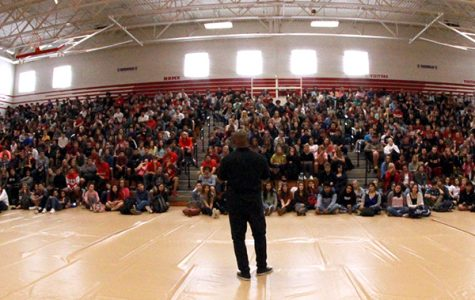 Keith Hawkins Visits Tomball