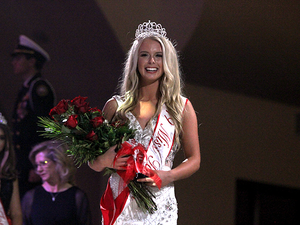 Presley Babb, winner of the 2019 Miss Tomball Pageant.