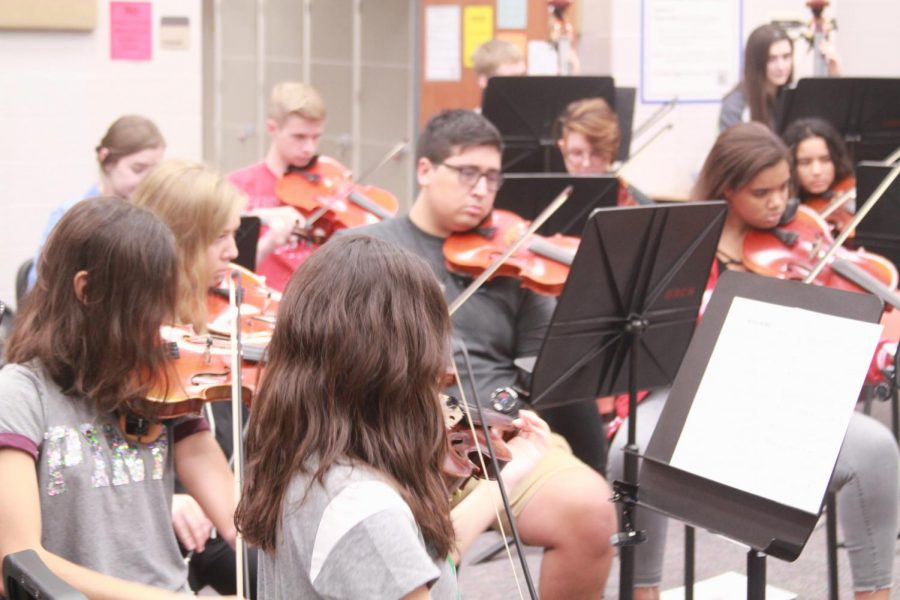 Symphony Orchestra Set in Stone for Pre-UIL
