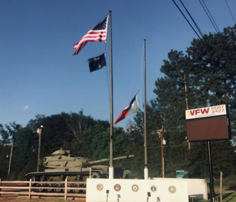 The VFW post in Tomball.