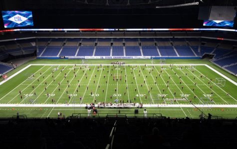 Band performing at state.