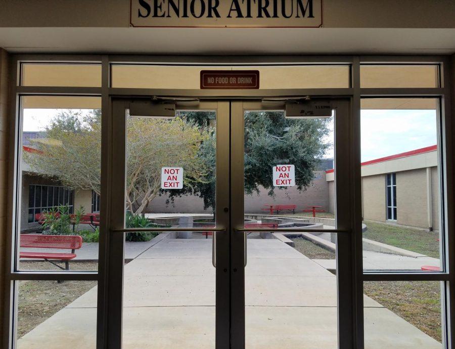 Senior Girls need help with Atrium improvements