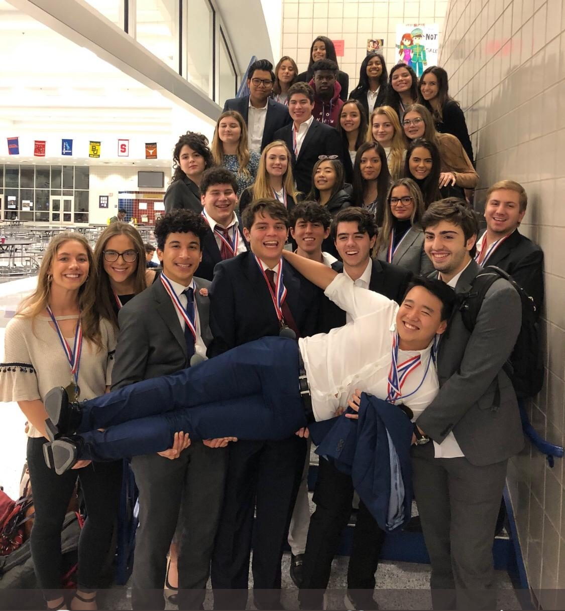 BPA team at competition.