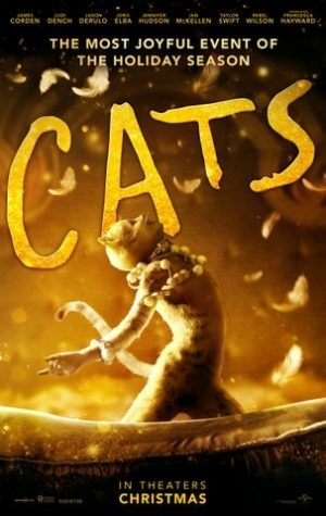 Official Cats movie poster.