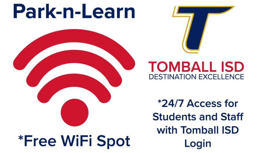 Students+can+park+at+select+campuses+to+access+the+district+WiFi+network.
