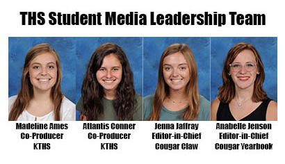 The new leaders of the various campus student media programs are announced.