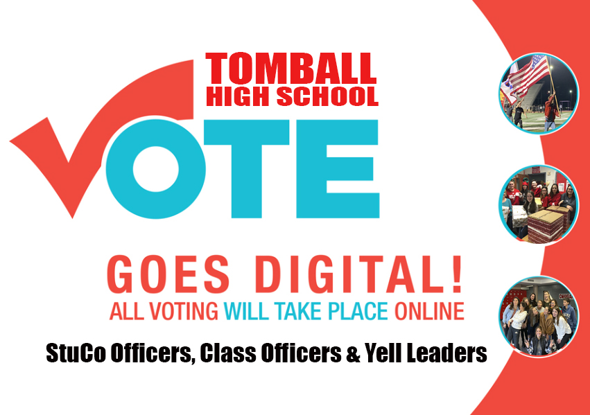 Voting for class officers, StuCo officers and Yell Leaders are moving online.