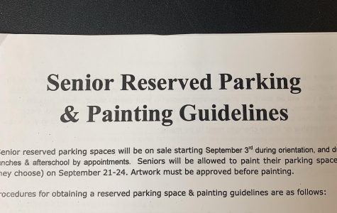 Informational packets can be picked up in Mr. Craft's office.