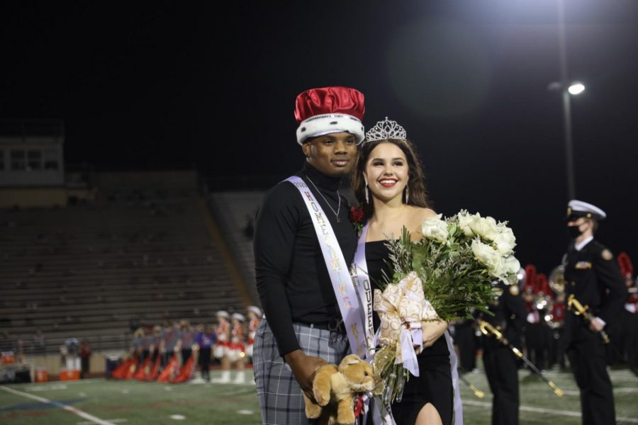 Abby Rose wins Homecoming Queen