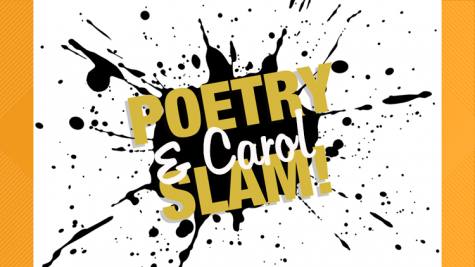 Holiday Poetry and Carol Slam takes place next Wednesday