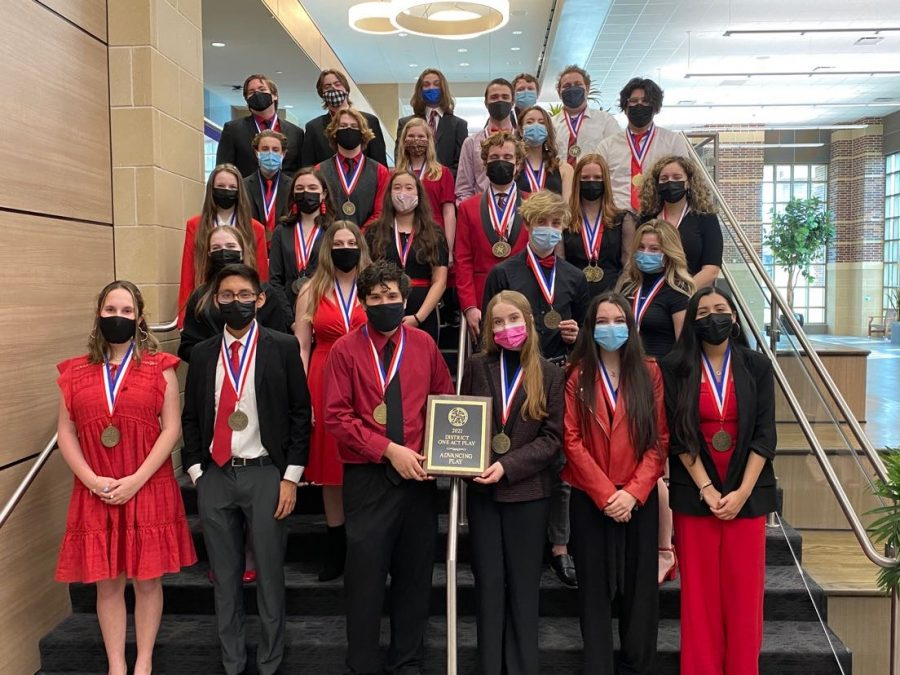 Tomball Stage One-Act Play advances to Regionals