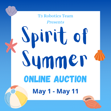 T3 Robotics hosts an online auction.