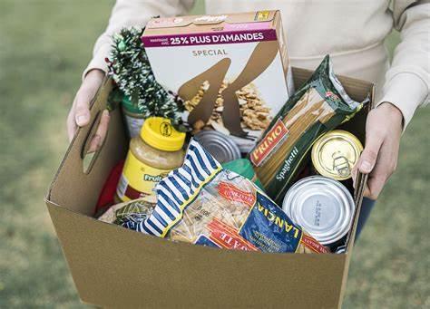 Senior Parents launch food drive