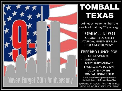 Tomball to pay tribute on 9/11 anniversary