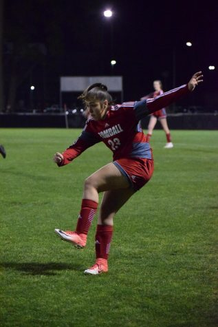 Ximena Hammeken has become a standout soccer star.